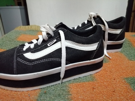 Zapatos Vans Con Plataforma