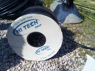 Cinta Con Goteros Riego Hi Tech 150µm C/20cm 1l/h