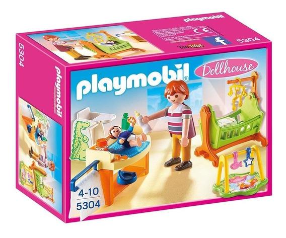 Habitación De Bebé Con Cuna 5304- Playmobil