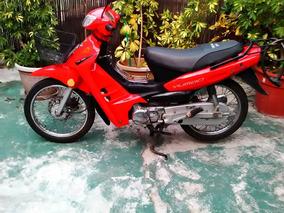 Vendo Moto Yumbo C110 Dlx Año 2006 Color Rojo Impeca Estado
