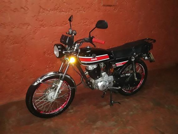 Moto Zanella Sapucai 200cc Con Llantas Al Día