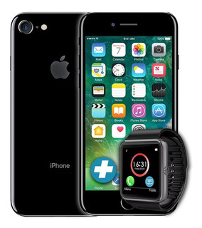 iPhone 7 Original Garantía 128gb 4g Lte + Smartwatch - Bde