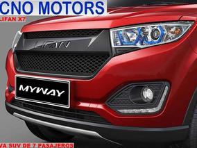 Nueva Lifan 7 Pasajeros, Tecno Motors Concesionario