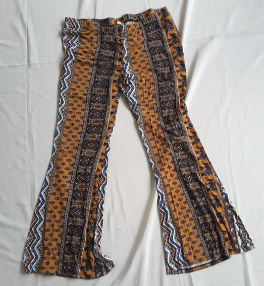 Pantalon Calza Mujer Forever 21 3xxxl Oxford Arabescos