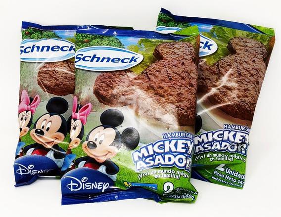 Hamburguesa Mickey Asador Disney Flowpack 2 Unidades