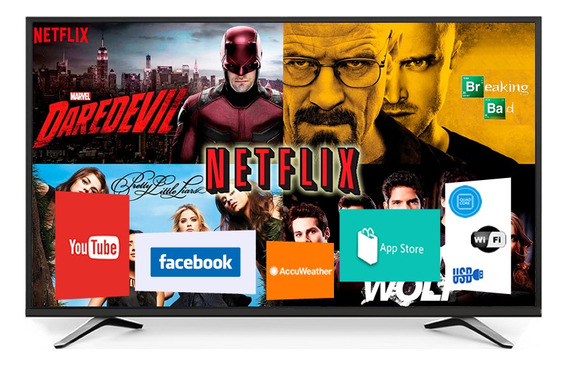 Smart Tv Led Punktal 32 Usb Hd Wifi Netflix Youtube Y Mas