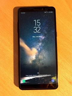 Samsung A8 Plus Dual Sim Negro