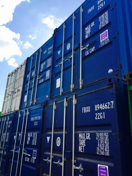 Contenedores Marítimos Usados Containers Vacios 40