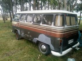 Volkswagen Kombi Deluxe Año 80 Rural