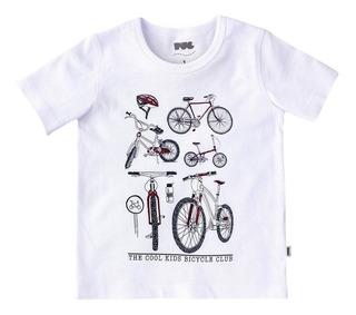 Camiseta Varon Puc Tm - Blanco Bici- Flaber