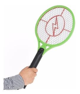 Raqueta Electrica Recargable Mata Moscas Y Mosquitos ®