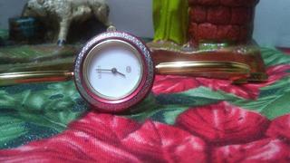 Reloj Gucci 1100-l Original De Acero Con Baño De Oro