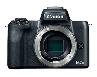 Canon Eos M50 Mirrorless Camera Body W 4k Video (black)