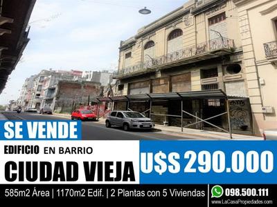 1170mt2 - Edificio En Ciudad Vieja