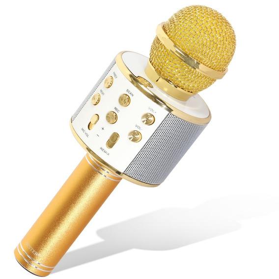 Micrófono Karaoke 2en1 Parlante Bluetooth Y Radio Fm!