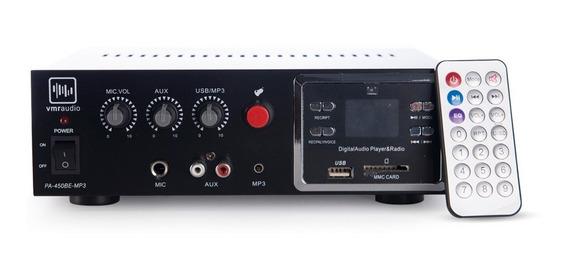 Amplificador Audio Vmr Store6 Potencia Bar Local 70-100v Mp3