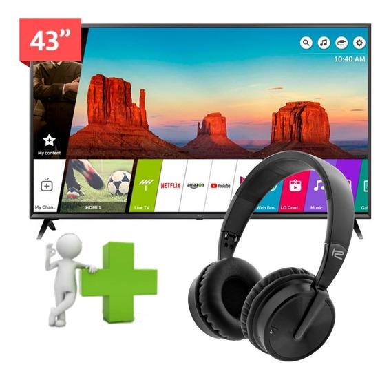Tv Smart Lg 43 4k Uhd 43uk6300 +regalo Tsuy