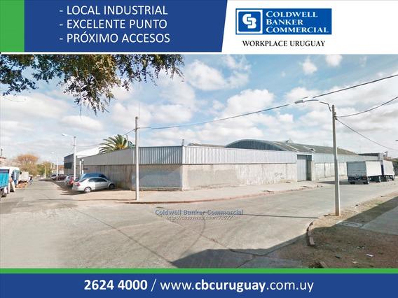 Local Industrial O Depósito La Teja Venta Alquiler