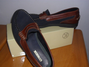 Zapatos Goshik Cuero Y Nobuck
