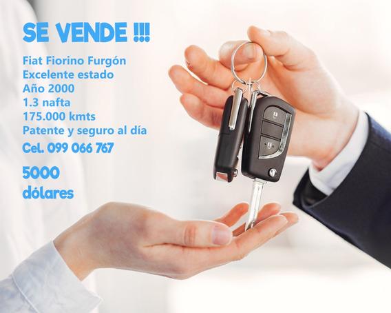 Fiat Fiorino Furgón Año 2000 - 175000 Kmts
