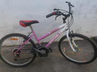 Bicicleta De Niña Olmo R. 20 Con Cambios
