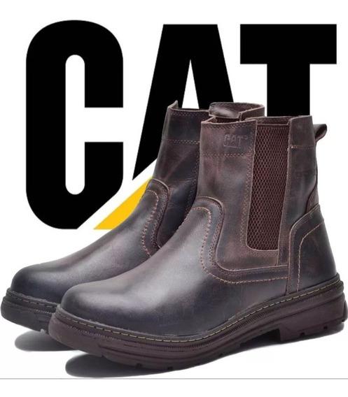 Bota Cat Caterpillar 100% Cuero Exclusivo 2019
