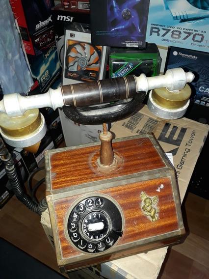 Telefono Antiguo De Dial Y Tubo