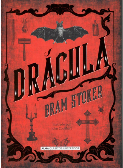 Libro: Drácula - Bram Stoker Tapa Dura
