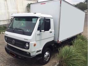 Caminhão 3/4 Vw 8.160 Bau 4,5 Pequena Entrada Mais Parcelas