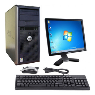 Pc Computadora Dual Core 4gb 500gb Completo Monitor 19