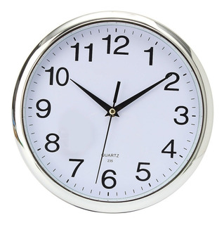 Reloj De Cuarzo Telesonic De 10 P / Pared - Electroimporta