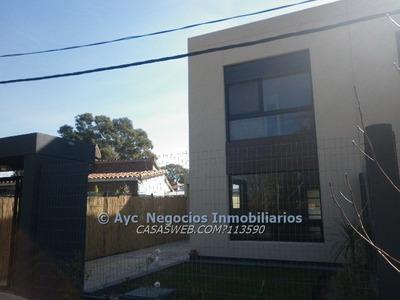 Casa A 1 Cuadra De La Rambla 3 Dorm,fondo,nueva