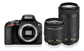 Cámara Profesional Nikon D3500 + Lentes 18-55mm + 70-300mm