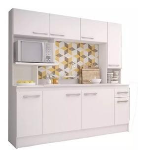 Mueble Cocina Compacta Napoles 1 Cajon Con Pileta Sensacion