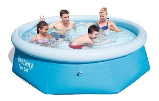 Piscina Bestway Inflable Gomon 2100lts Lg