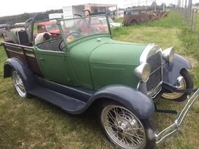 Ford A Pick-up Caja De Madera 1929