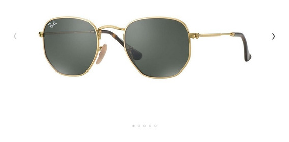 Lentes Anteojos Ray Ban.rb 3548 Hexagonal Stock