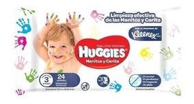 Huggies Toallitas Manitos Y Carita 24 - Bebés Y Niños