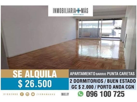 Apartamento Alquiler Punta Carretas Montevideo Imas.uy F *