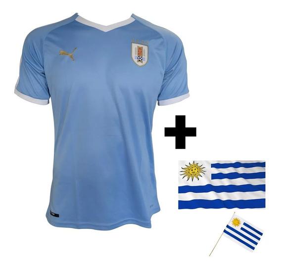 Camiseta Puma Uruguay 2019 Remera Celeste Selección +regalos