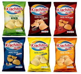 Packs Sabor Krachitos 65g X6u