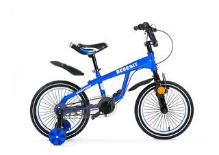 Bicicleta Bebesit Rodado 16 Varon Bk004 - Mosca