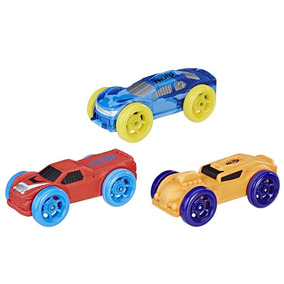 Repuestos De Autos Espuma X3 Hasbro Azul Rojo Naranja - Hb