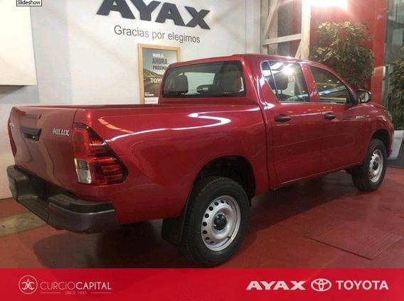 Toyota Hilux Dx 4x4 Diesel 2.4l 150cv 2019 Rojo 0km