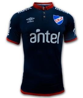 Camiseta De Nacional Azul 2018 Del Hincha Fútbol Niños Niñas