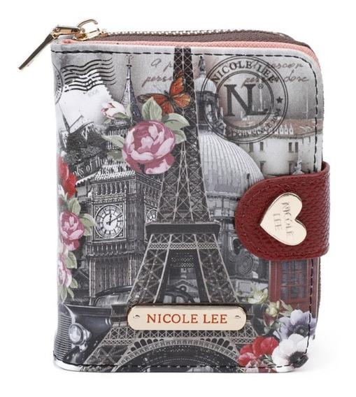 Billetera Dama Nicole Lee Usa 2020 - Paris - Prt6903