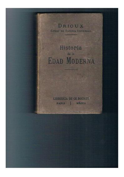 Antiguo (1888) Libro De Historia Con Dibujos