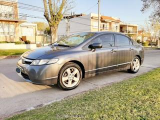 Honda Civic Lxs 1.8 Full Sedan Manual Permuta Fin Usado 2007