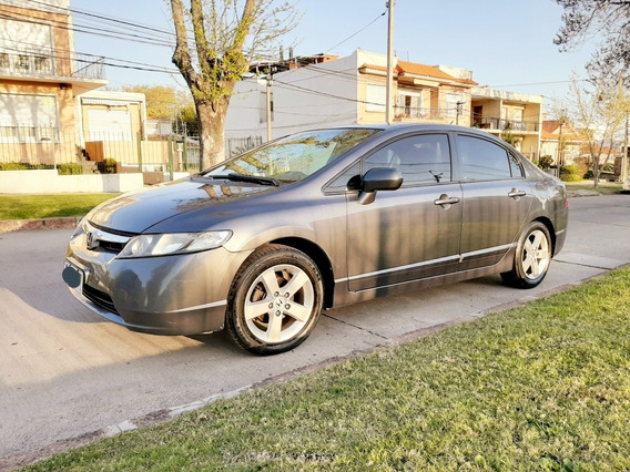 Honda Civic Lxs 1.8 Full Sedan Manual Permuta Fin Usado 2007