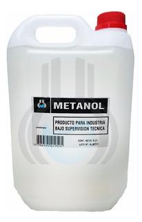 Alcohol Metilico - Metanol Alta Pureza - Bidon De 10 Litros